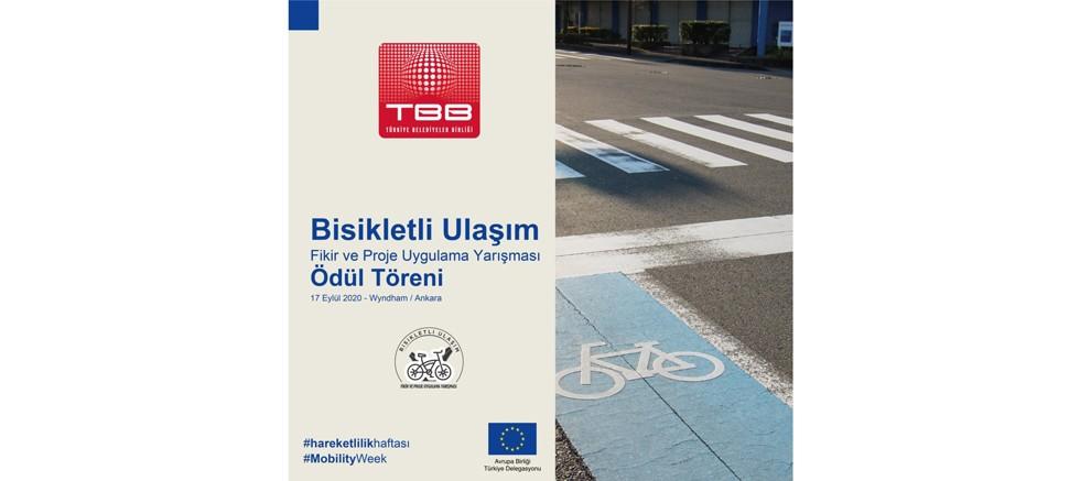 Bisikletli Ulaşım Fikir ve Proje Uygulama Proje Ödülleri Sahiplerini Buluyor