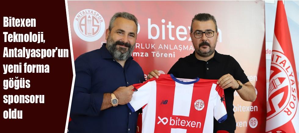 Bitexen Teknoloji, Antalyaspor'un yeni forma göğüs sponsoru oldu