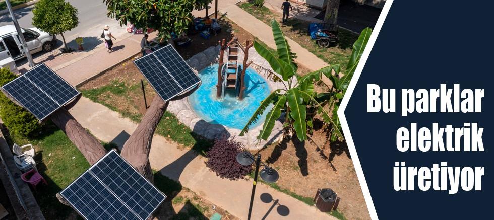 Bu parklar elektrik üretiyor