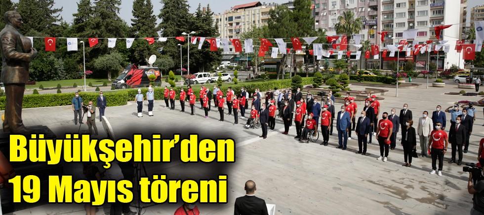 Büyükşehir'den 19 Mayıs töreni