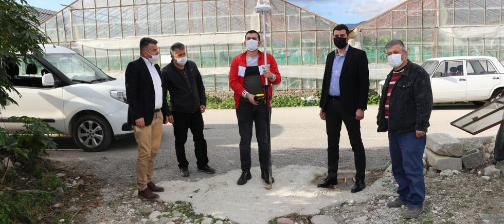 Büyükşehir'den Demreli üreticiye sulama desteği