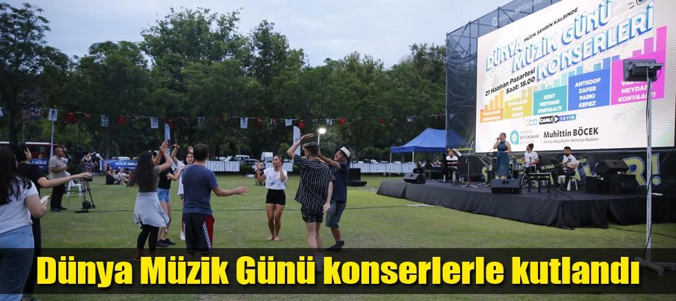 Büyükşehir'den Dünya Müzik Günü kutlaması