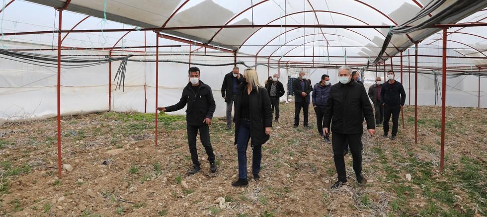 Büyükşehir'den kırsal bölgelerde akıllı tarım uygulaması