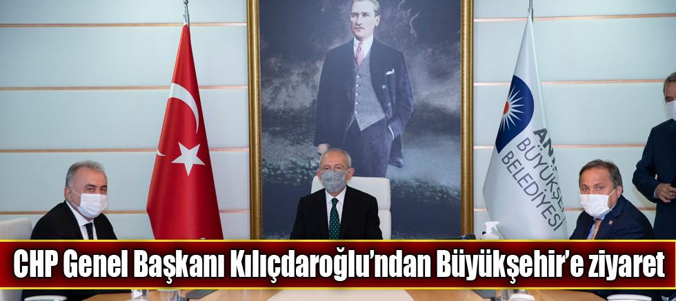 CHP Genel Başkanı Kılıçdaroğlu'ndan Büyükşehir'e ziyaret
