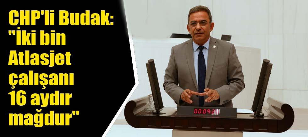 CHP'li Budak Atlasjet'e yönelik iddiaları TBMM'de gündeme getirdi