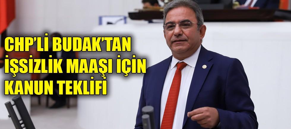 CHP'li Budak'tan işsizlik maaşı için kanun teklifi