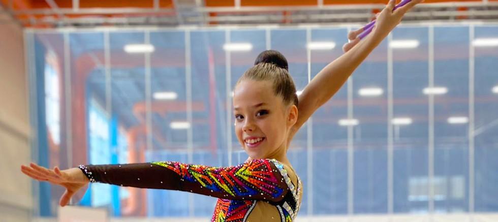 Cimnastik Sporcusu Alisa Akhun TOHM sporcusu oldu