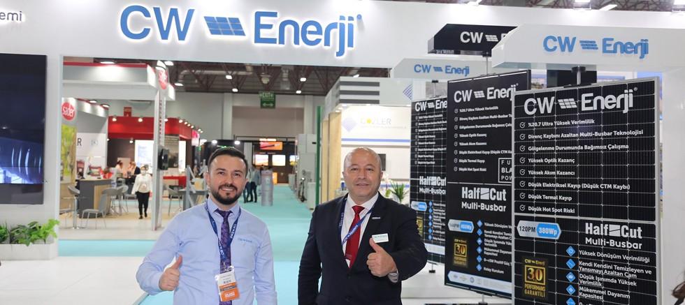CW Enerji, Solarex İstanbul ile Konya Enerji Zirvesi ve Fuarı'nda yoğun ilgi gördü