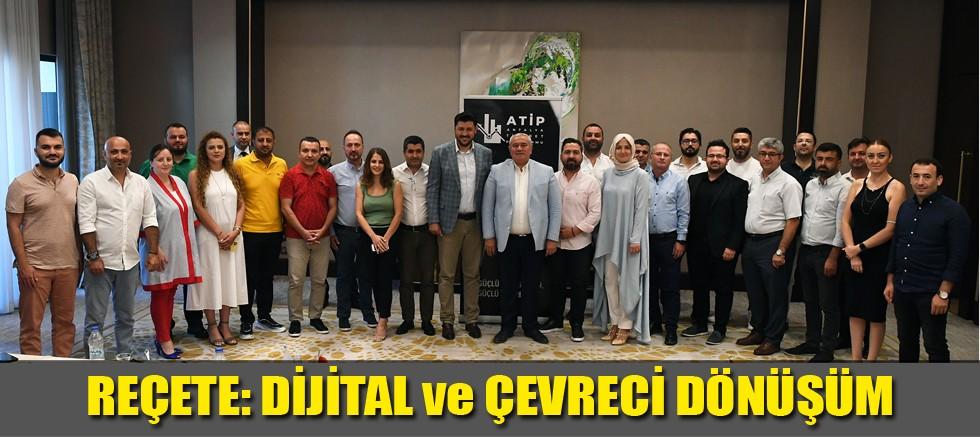 Davut Çetin Antalya Ticaret Platformu'nun konuğu oldu