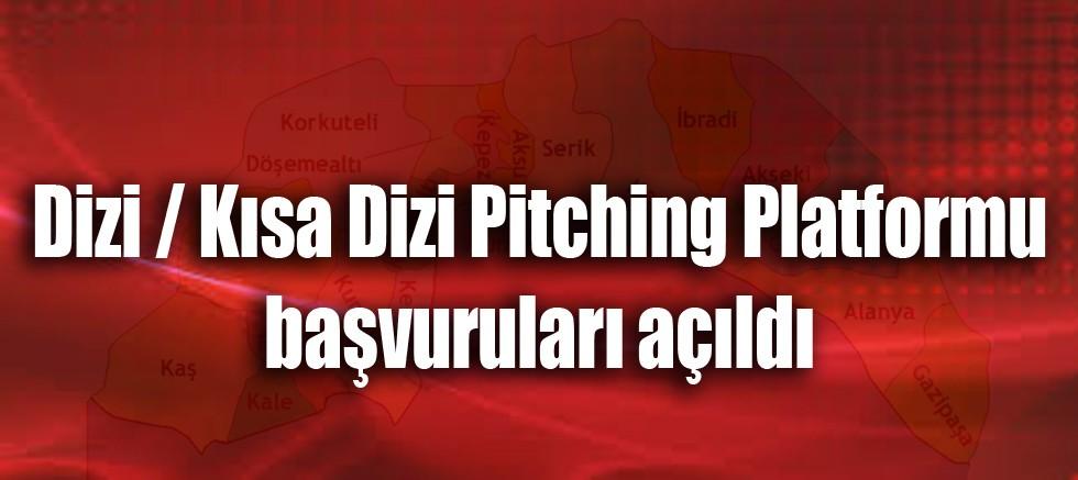 Dizi / Kısa Dizi Pitching Platformu başvuruları açıldı