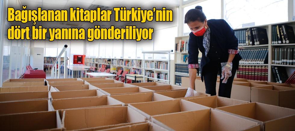 Doğan Hızlan Kütüphanesi kitap bağışında koordinasyon merkezi yolunda ilerliyor