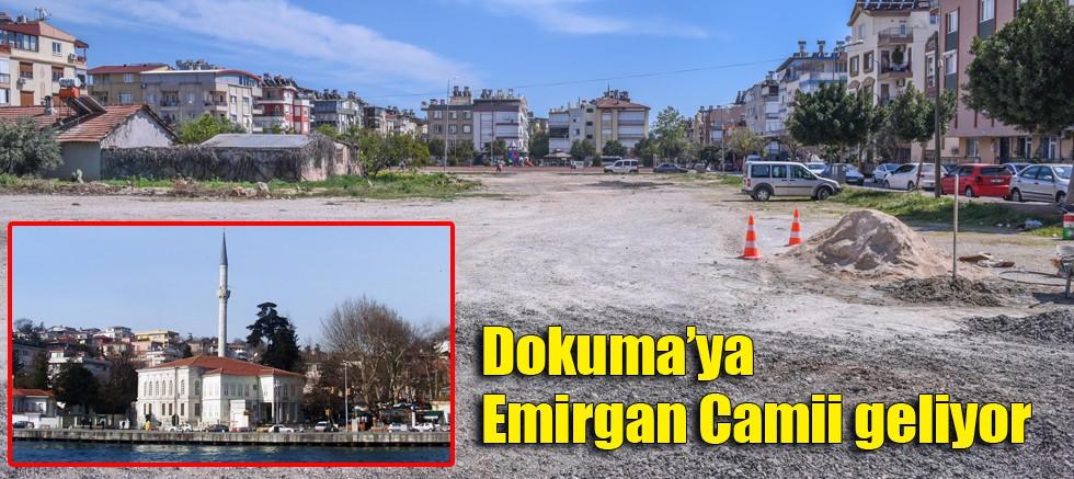 Dokuma'ya Emirgan Camii geliyor