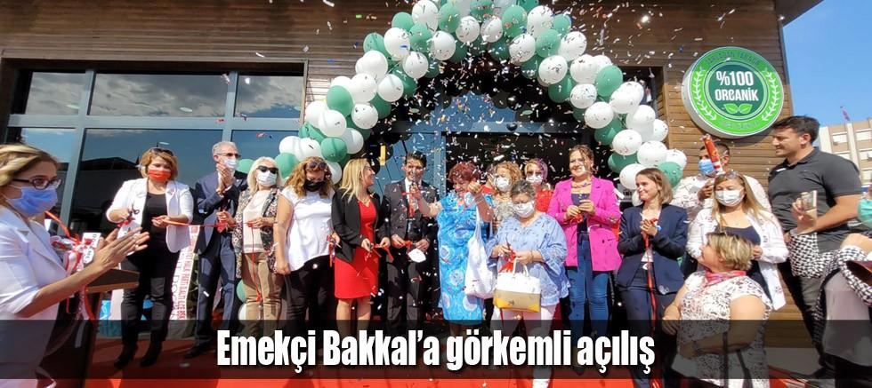 Emekçi Bakkal'a görkemli açılış