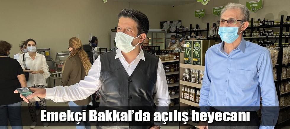 Emekçi Bakkal'da açılış heyecanı