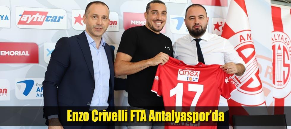 Enzo Crivelli FTA Antalyaspor'da