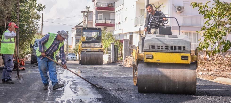 Esentepe ve Erenköy'e asfalt hizmeti