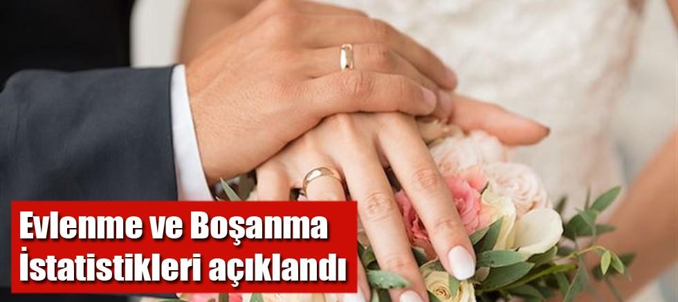 Evlenme ve Boşanma İstatistikleri açıklandı