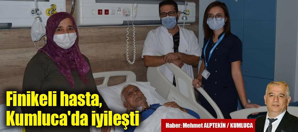 Finikeli hasta Kumluca'da iyileşti
