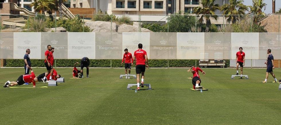 Fraport Tav Antalyaspor çift antrenman yapacak