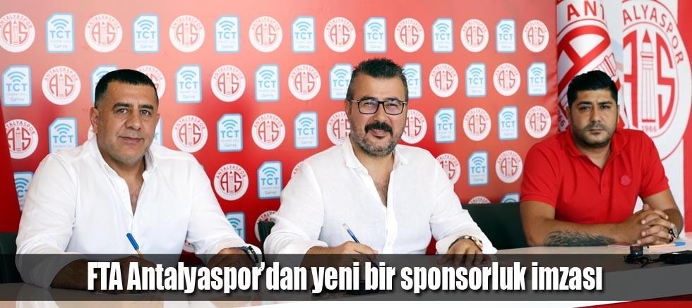 FTA Antalyaspor'dan yeni bir sponsorluk imzası