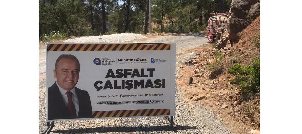 Gazipaşa'da alt yapı sonrası asfalt seferberliği