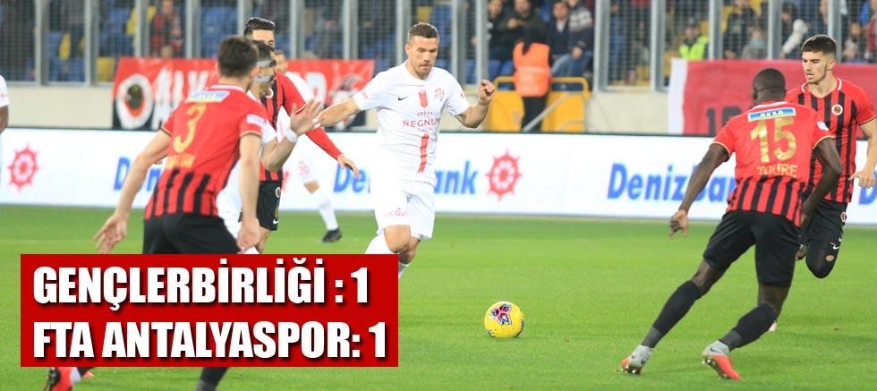 Gençlerbirliği 1-1 FTA Antalyaspor