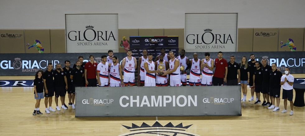 Gloria Cup 2021 Basketball Turnuva 1'in Şampiyonu Bahçeşehir Koleji