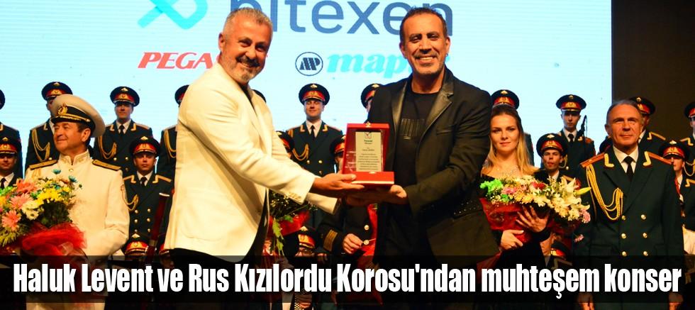 Haluk Levent ve Rus Kızılordu Korosu'ndan muhteşem konser