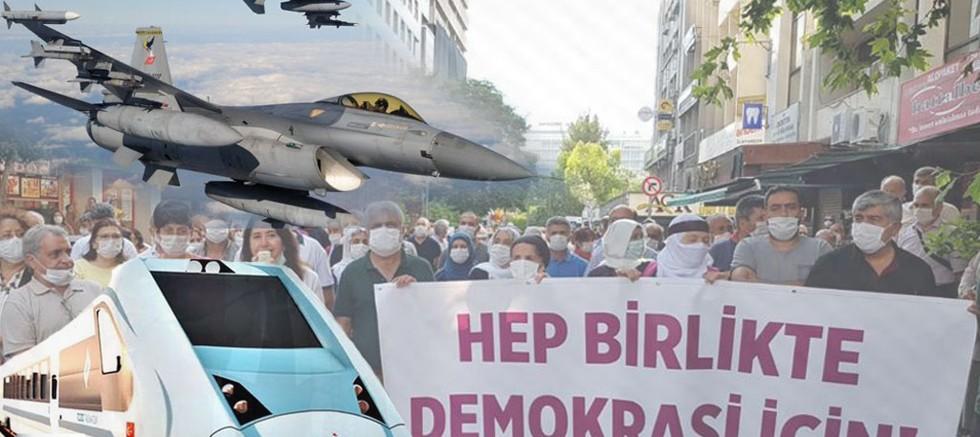 """Haziran Ayı Siyaset Gündeminde En Çok """"Demokrasi Yürüyüşü"""" Konuşuldu"""