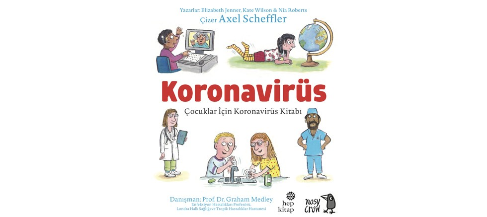 """hep kitap'ın """"Çocuklar İçin Koronavirüs Kitabı"""" güncellendi"""