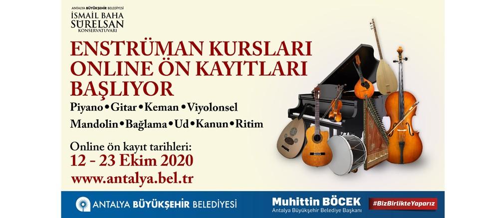 İsmail Baha Sürelsan Konservatuvarı'nda kurs kayıtları başlıyor