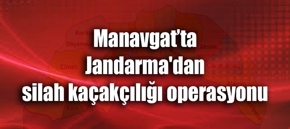 Jandarma'dan silah kaçakçılığı operasyonu