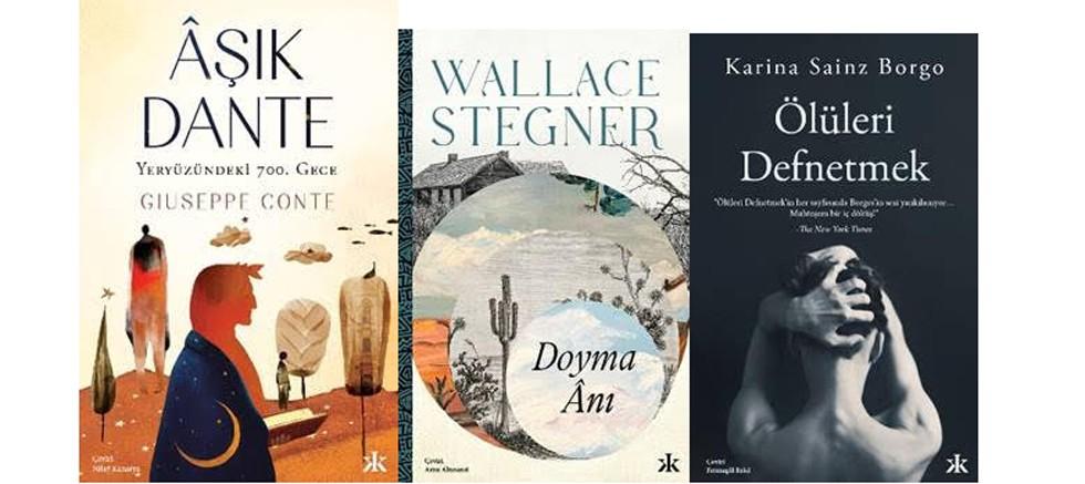 Kafka Kitap, sonbaharı dünya edebiyatından üç güçlü romanla karşıladı