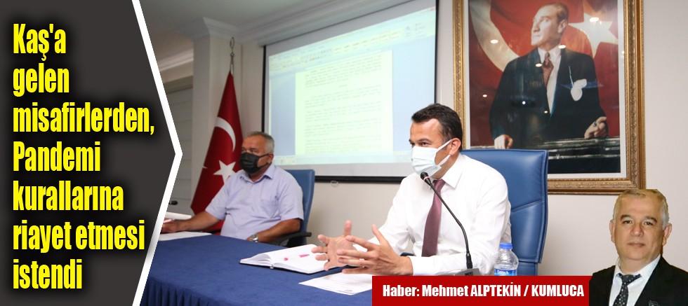 Kaş Belediyesi'nin haziran ayı meclis toplantısı yapıldı