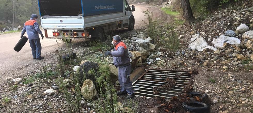 Kemer Belediyesi daha temiz bir Kemer için çalışıyor