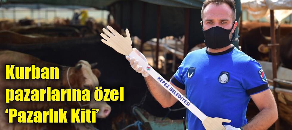 Kepez'den kurban pazarlarına özel 'Pazarlık Kiti'