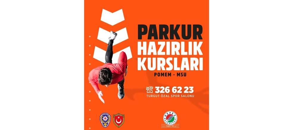 Kepez'den POMEM ve MSÜ adaylarına 'Parkur Hazırlık Kursları'