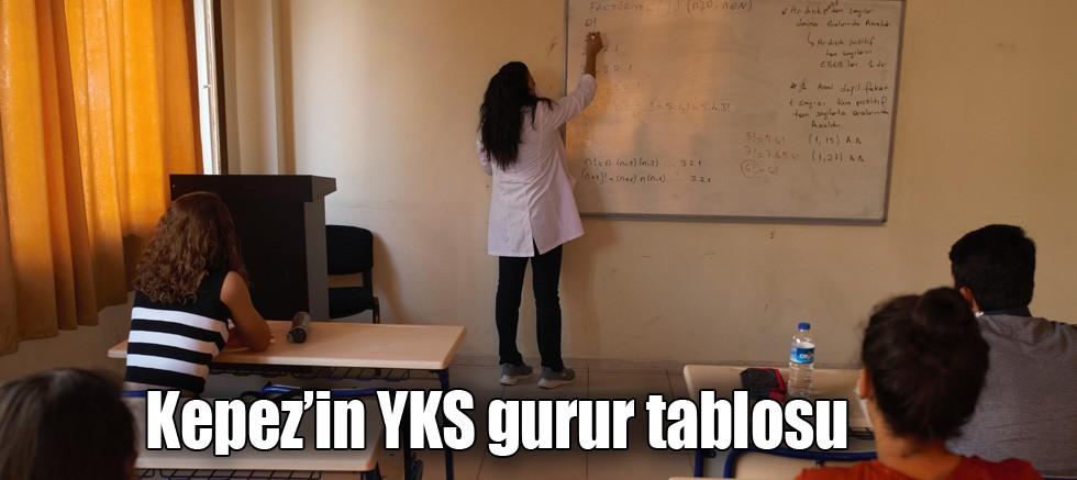 Kepez'in YKS gurur tablosu