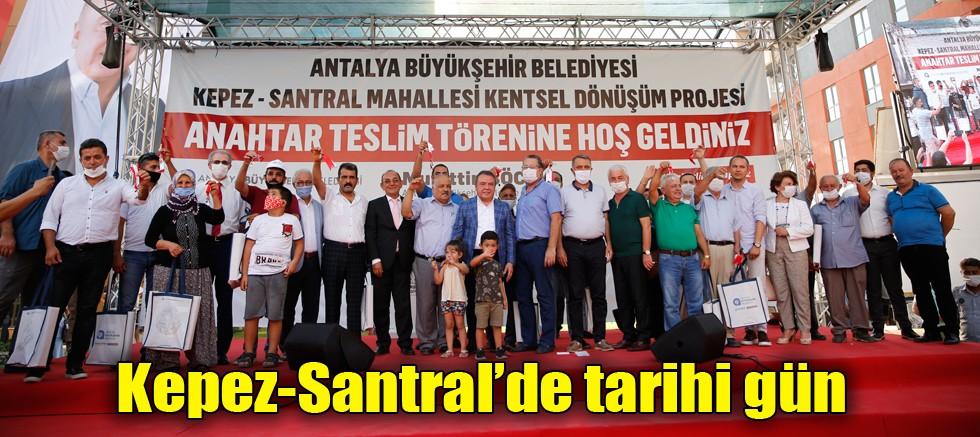 Kepez-Santral'de tarihi gün