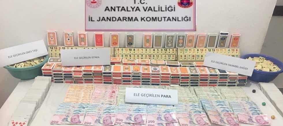 Kıraathanede kumar oynayan 16 kişiye para cezası