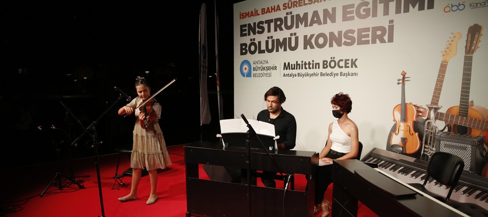 Konservatuvar öğrencilerinden klasik müzik ziyafeti