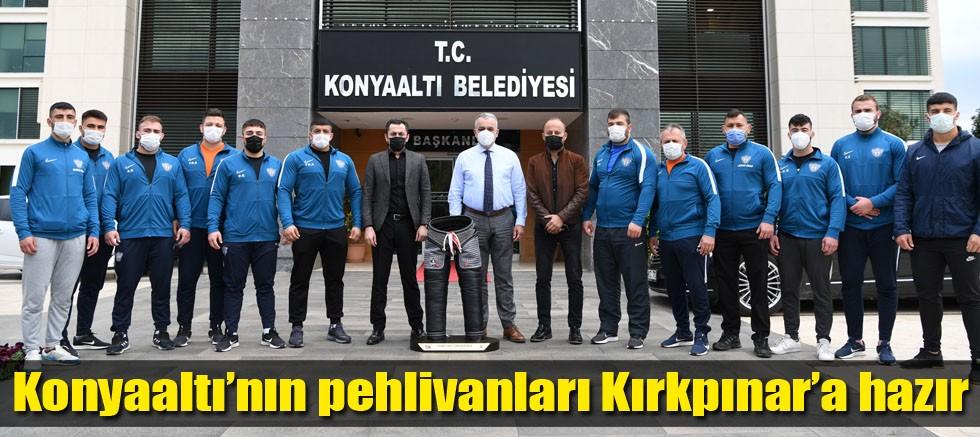 Konyaaltı'nın pehlivanları Kırkpınar'a hazır