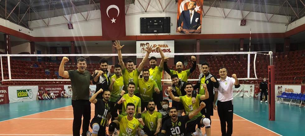 Korkuteli Belediyespor yenilgisiz finallerde