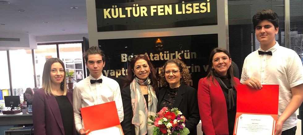Kültür Koleji Fen Lisesi Türkiye birincisi oldu
