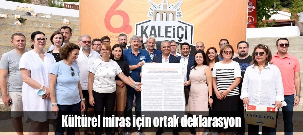 Kültürel miras için ortak deklarasyon
