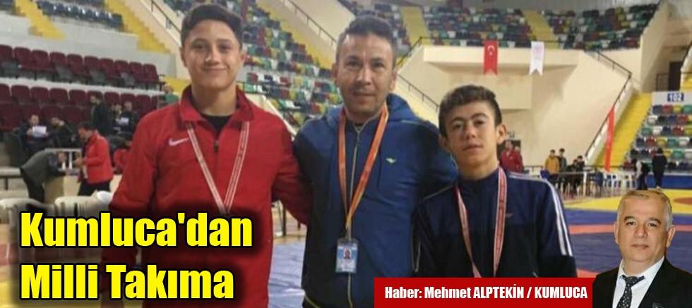 Kumluca'dan Yıldız Güreş Milli Takımı'na 2 Sporcu