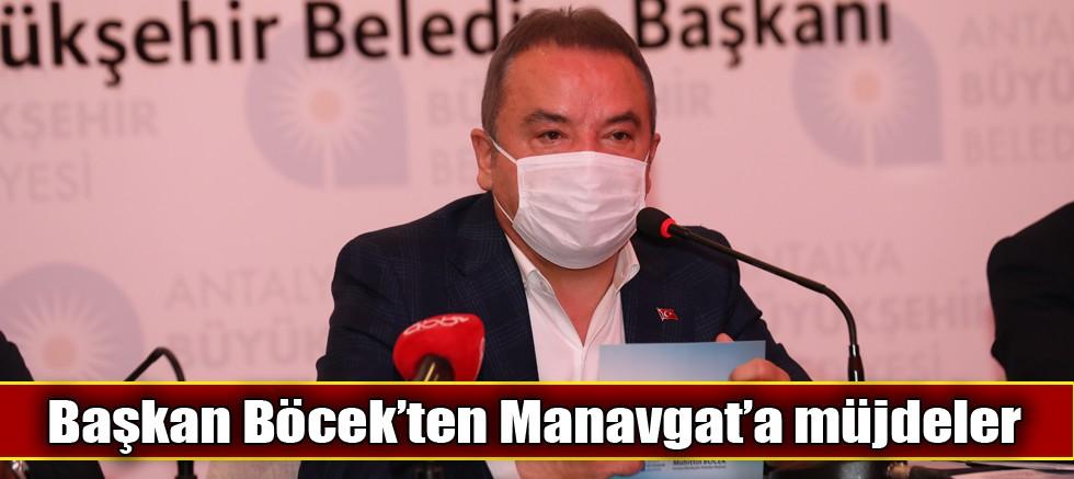 Manavgat'a 625 milyon TL'lik yatırım sözü
