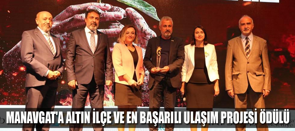 Manavgat Belediyesi'ne 2 ödül birden