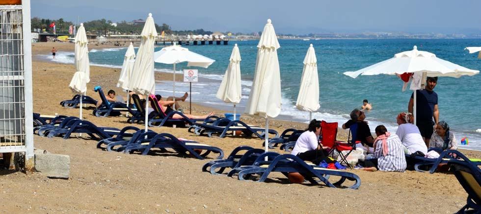Manavgat Belediyesi'nin hijyenik halk plajı ve mesire alanları