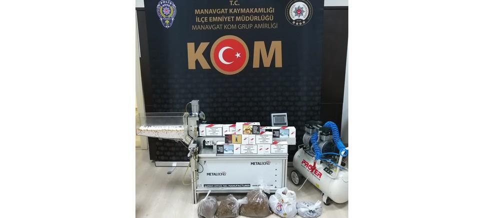 Manavgat İlçesinde 1 Şahıs Tutuklandı
